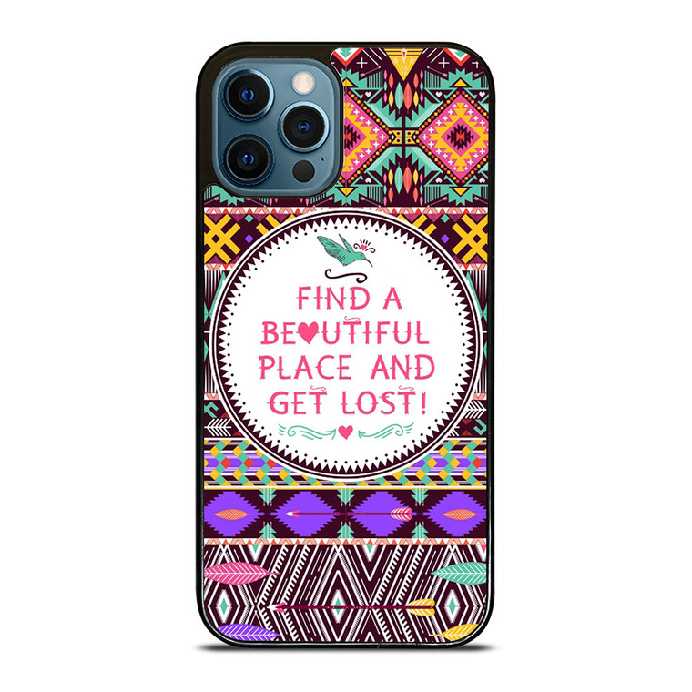 PIECE TRIBAL PATTERN 2 iPhone 12 Pro Case Cover