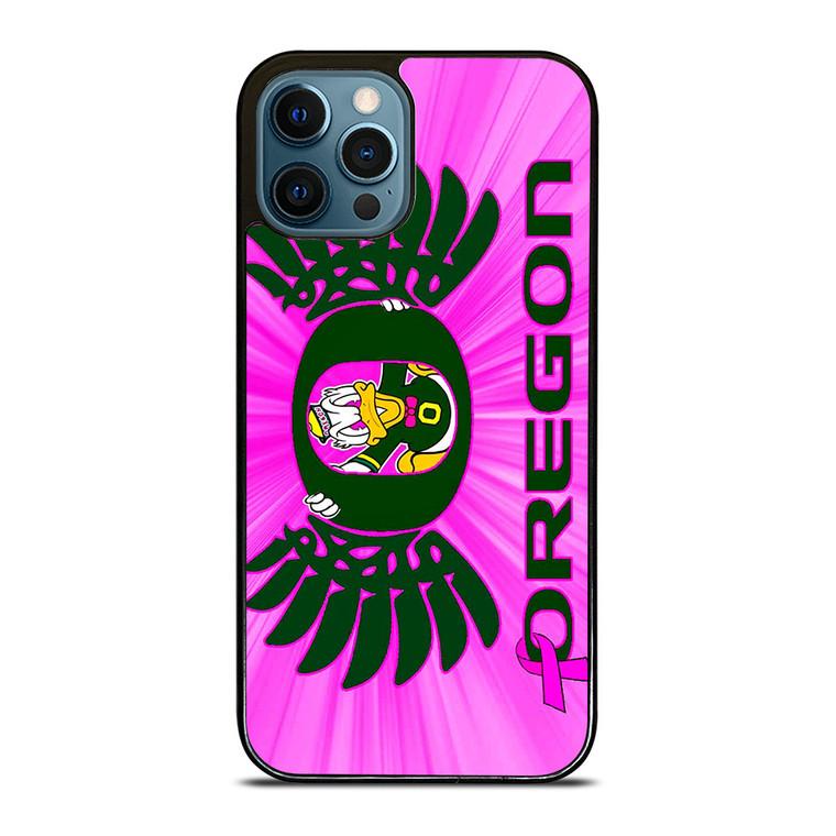 PINK GIRLS OREGON DUCKS iPhone 12 Pro Case Cover