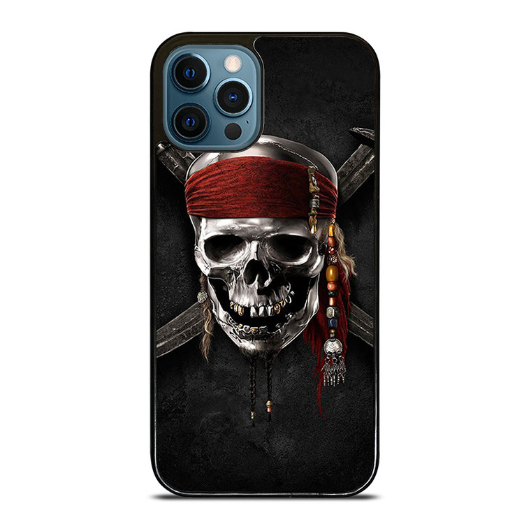 PIRATES OF THE CARIBBEAN SKULL iPhone 12 Pro Case Cover