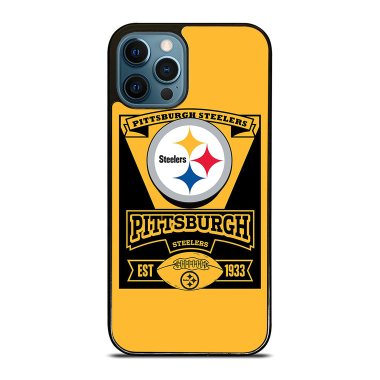 PITTSBURGH STEELERS 1933 iPhone 12 Pro Case Cover