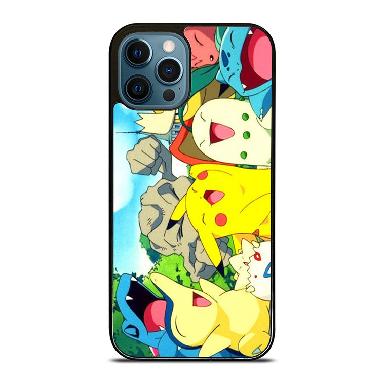 POKEMON CHARACTER iPhone 12 Pro Case Cover