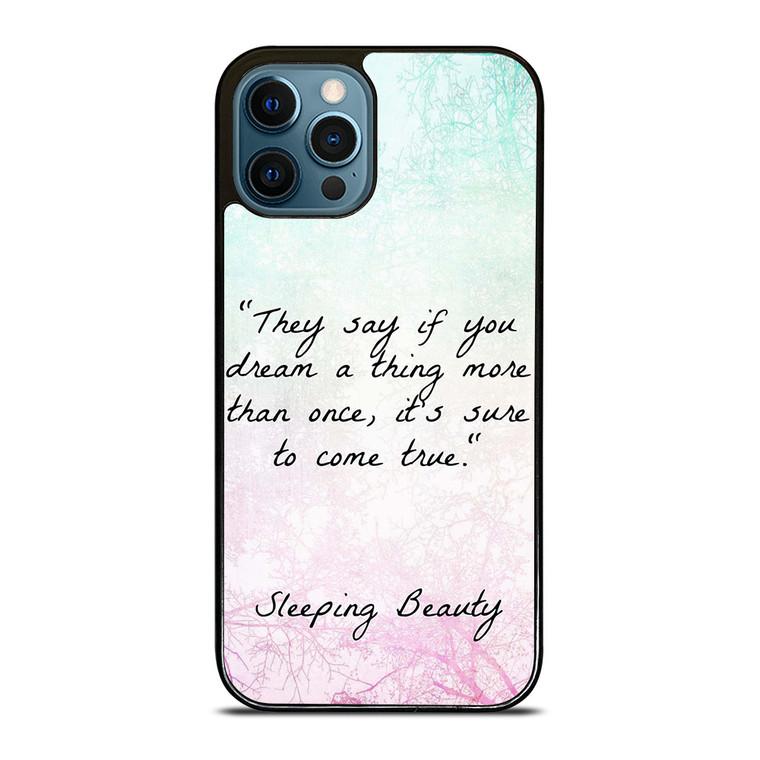 PRINCESS AURORA QUOTES iPhone 12 Pro Case Cover