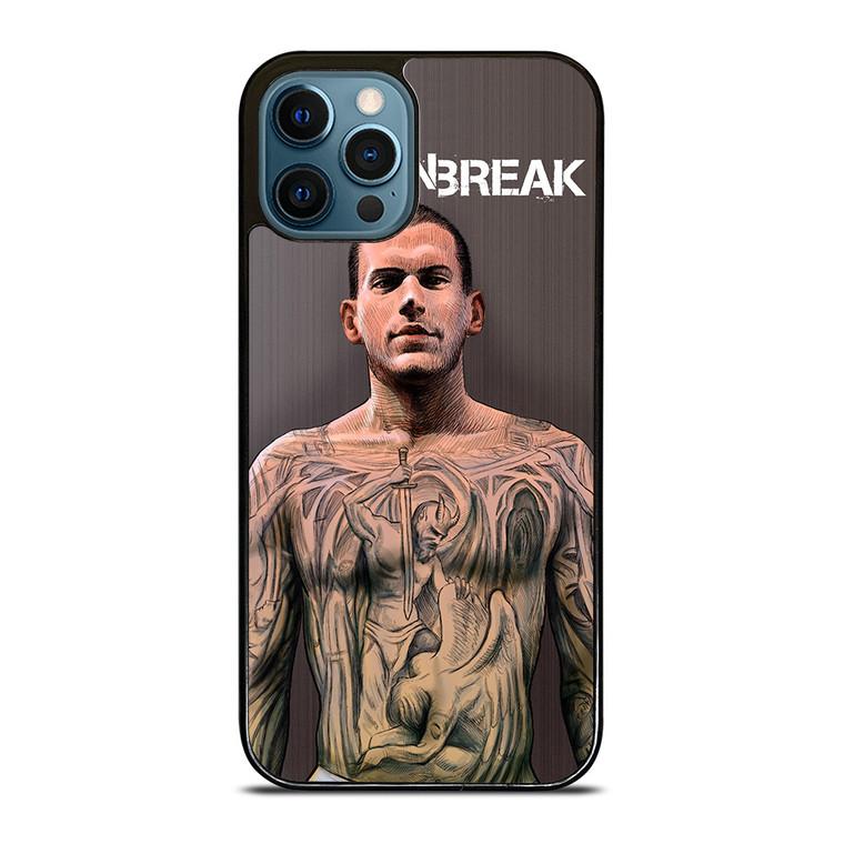 PRISON BREAK MICHAEL SCOFIELD iPhone 12 Pro Case Cover