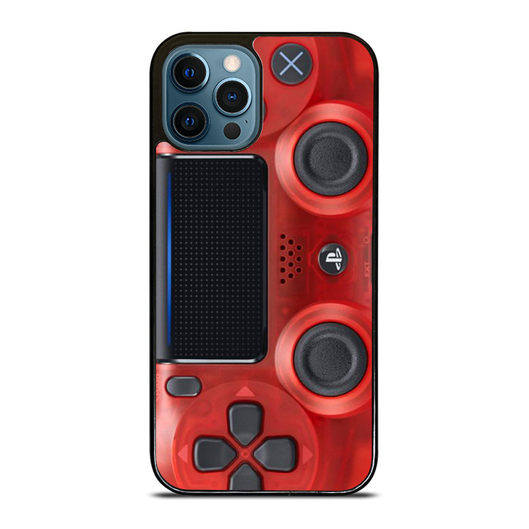PS4 CONTROLLER PLAY STATION RED iPhone 12 Pro Case Cover