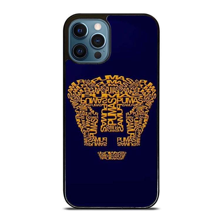PUMAS UNAM iPhone 12 Pro Case Cover
