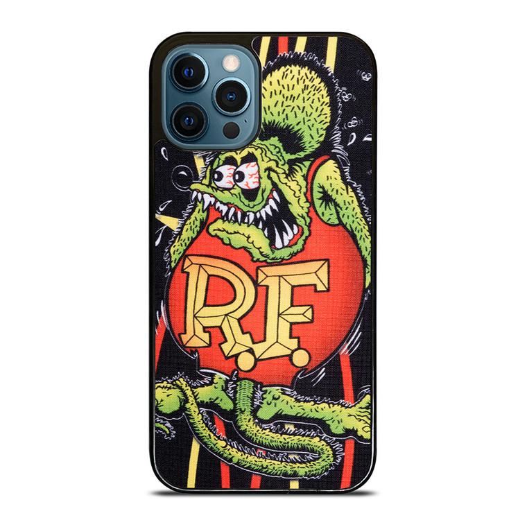 RAT FINK PINSTRIPE iPhone 12 Pro Case Cover