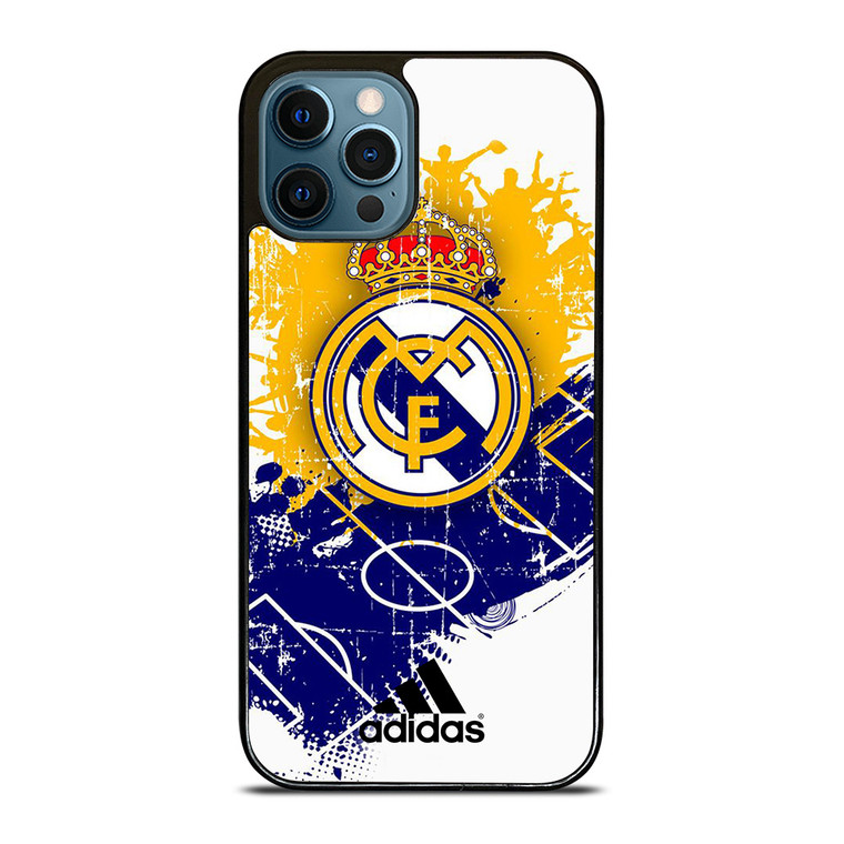 REAL MADRID FC ART iPhone 12 Pro Case Cover