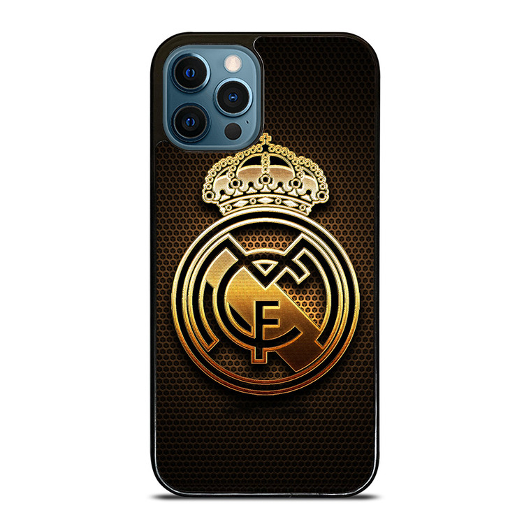 REAL MADRID FC GOLD iPhone 12 Pro Case Cover