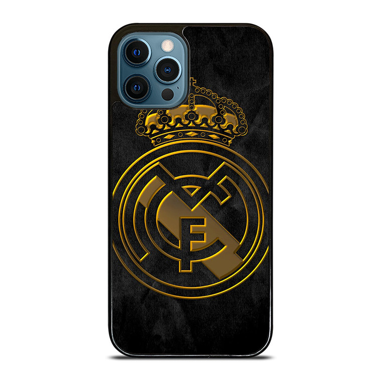 REAL MADRID GOLD iPhone 12 Pro Case Cover