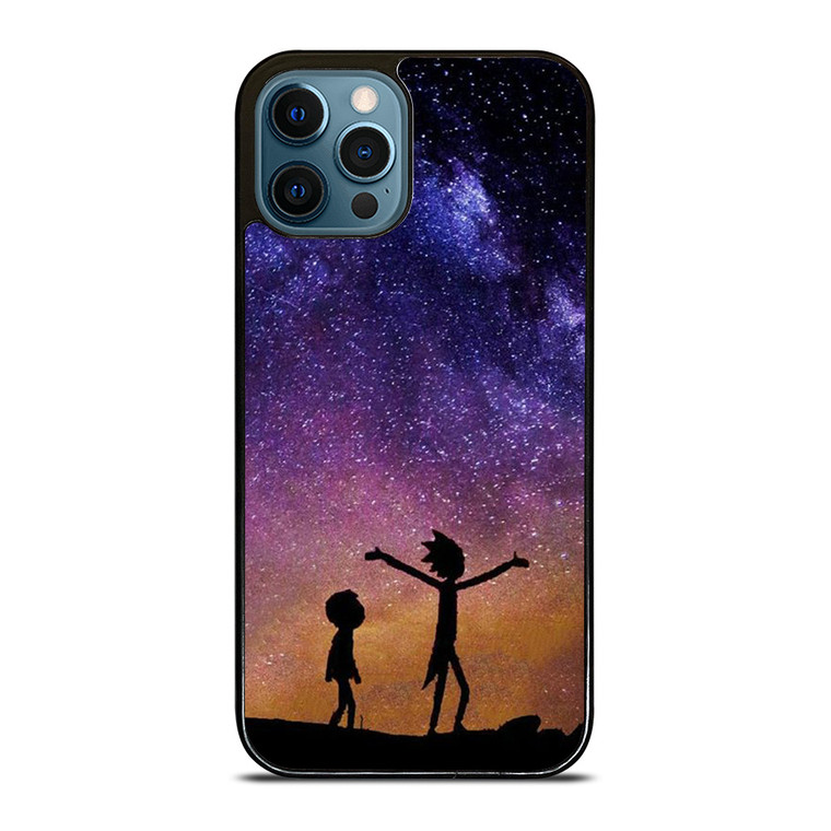 RICK AND MORTY GALAXY iPhone 12 Pro Case Cover