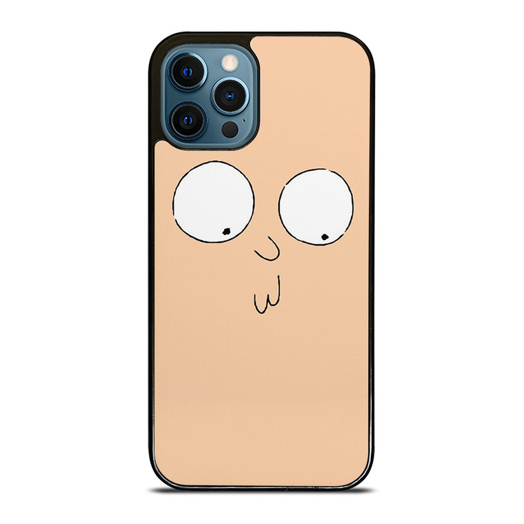 RICK AND MORTY STUPID FACE iPhone 12 Pro Case Cover