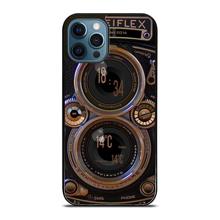ROLLEIFLEX VINTAGE CAMERA iPhone 12 Pro Case Cover
