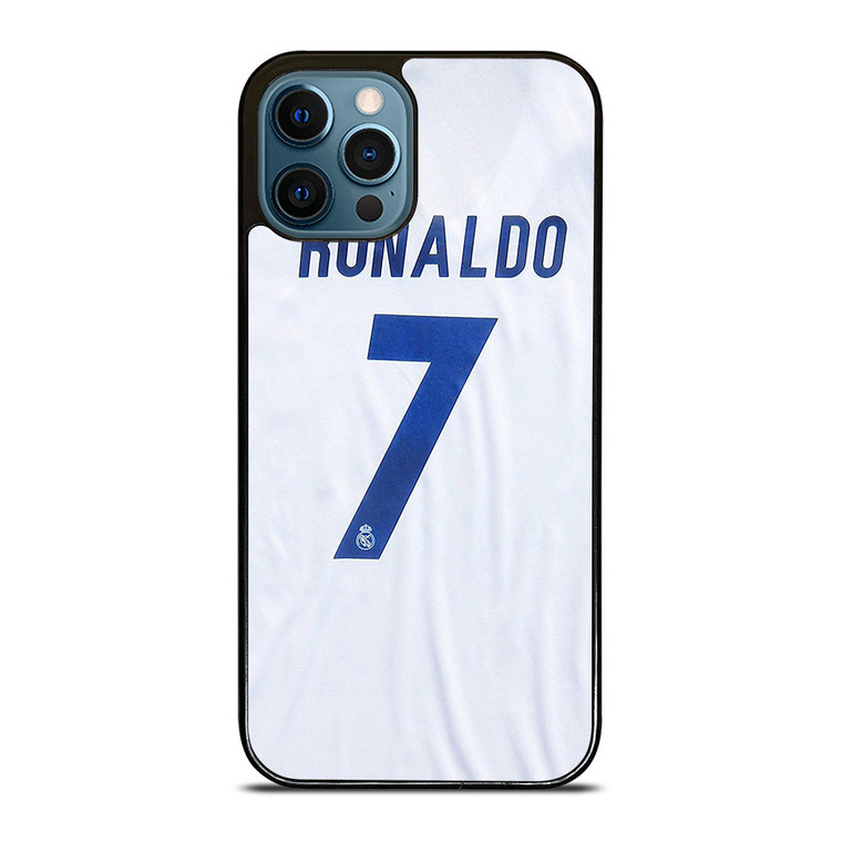 RONALDO CR7 JERSEY REAL MADRID iPhone 12 Pro Case Cover