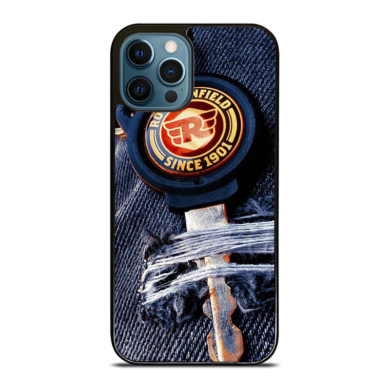 ROYAL ENFIELD KEY CHAN JEANS iPhone 12 Pro Case Cover