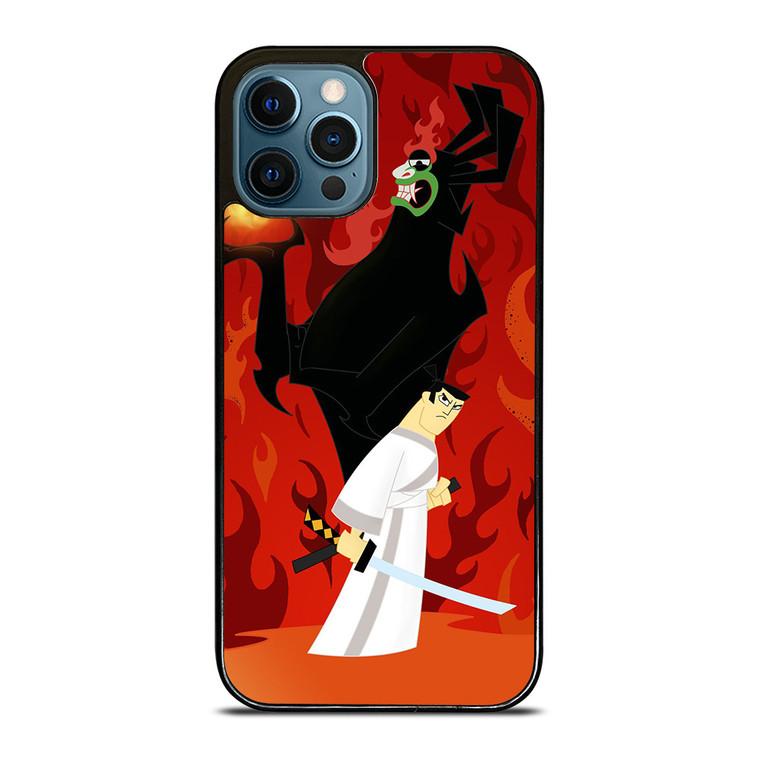 SAMURAI JACK BATTLE AKU iPhone 12 Pro Case Cover