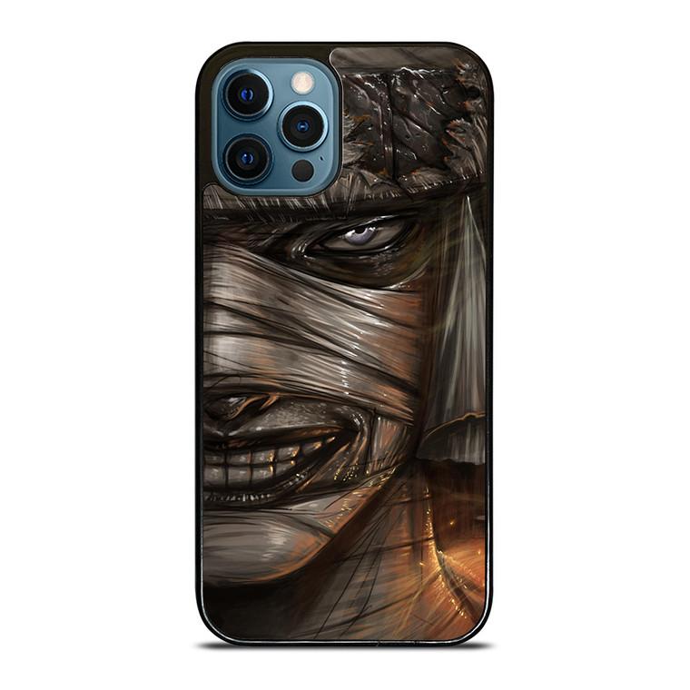 SAMURAI X RUROUNI KENSHIN MAKOTO FACE iPhone 12 Pro Case Cover
