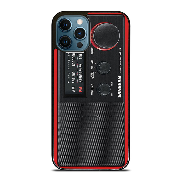 SANGEAN RED RADIO iPhone 12 Pro Case Cover
