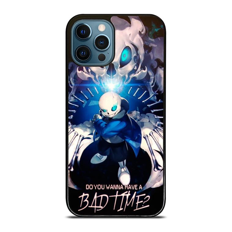 SANS UNDERTALE BAD TIME iPhone 12 Pro Case Cover