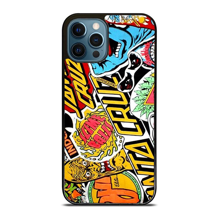 SANTA CRUZ POSTER iPhone 12 Pro Case Cover