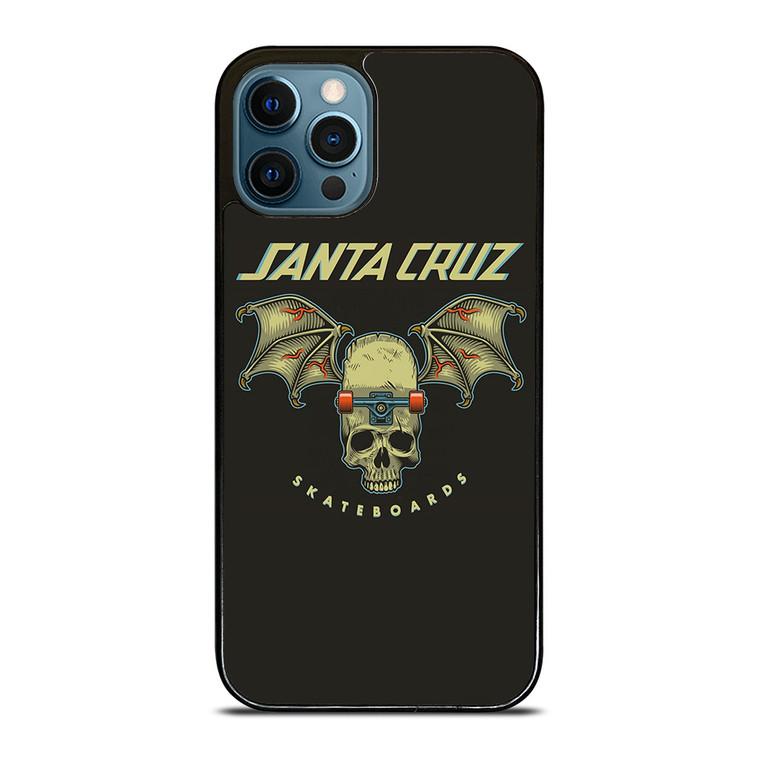 SANTA CRUZ SKATEBOARDS SKULL iPhone 12 Pro Case Cover