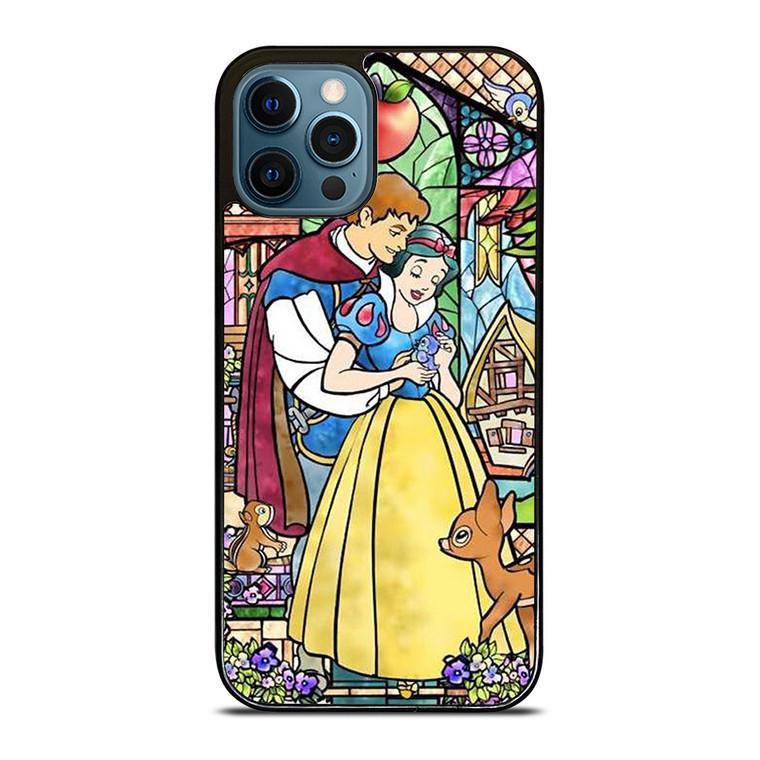 SNOW WHITE ART GLASSES Disney iPhone 12 Pro Case Cover