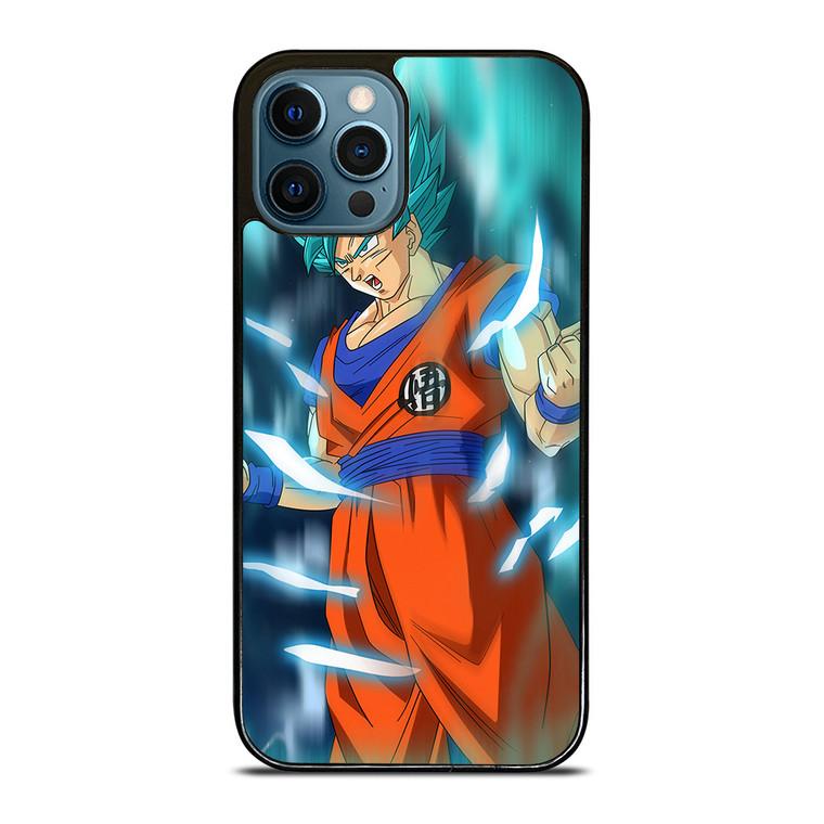 SON GOKU DRAGON BALL SAIYAN BLUE iPhone 12 Pro Case Cover