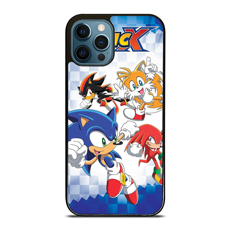 SONIC X THE HEDGEHOG iPhone 12 Pro Case Cover