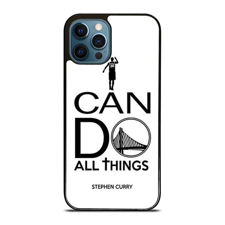 STEPHEN CURRY I CAN DO iPhone 12 Pro Case Cover