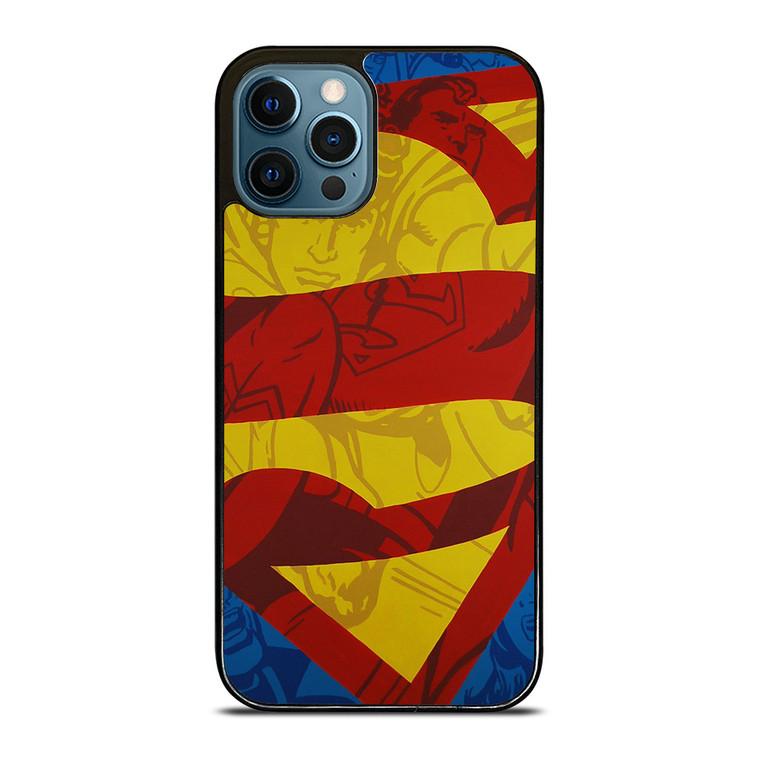 SUPERMAN LOGO COMIC iPhone 12 Pro Case Cover