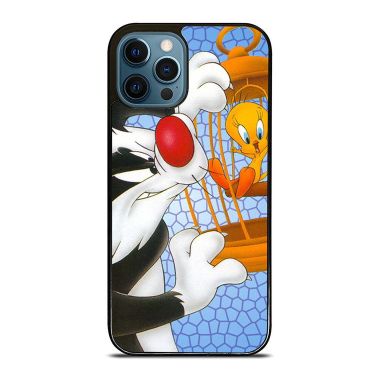 SYLVESTER AND TWEETY Looney Tunes iPhone 12 Pro Case Cover