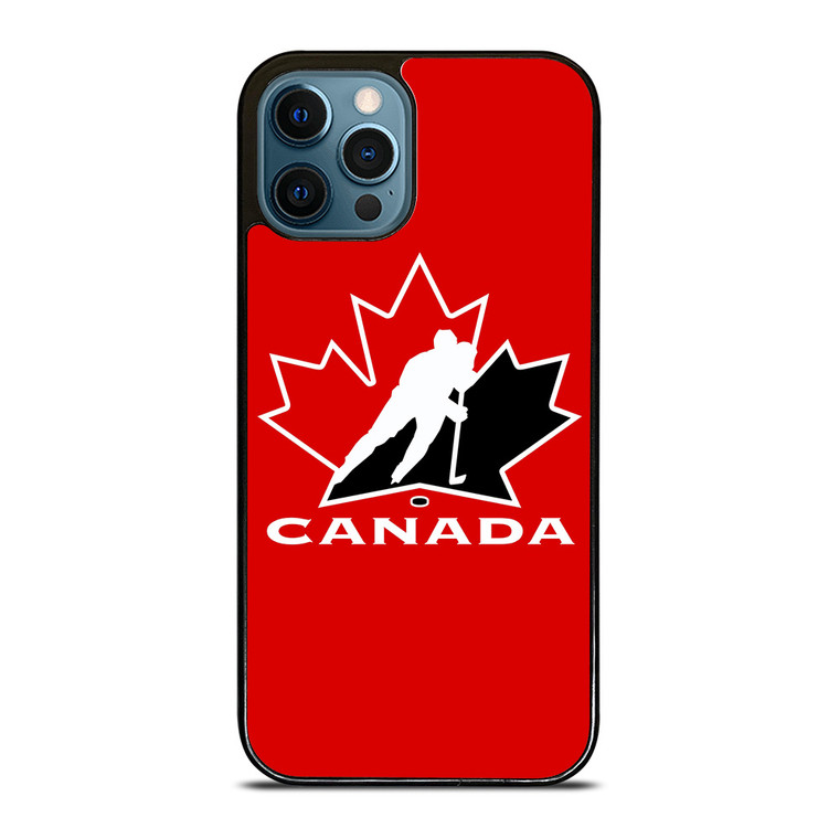 TEAM CANADA HOCKEY LOGO iPhone 12 Pro Case Cover
