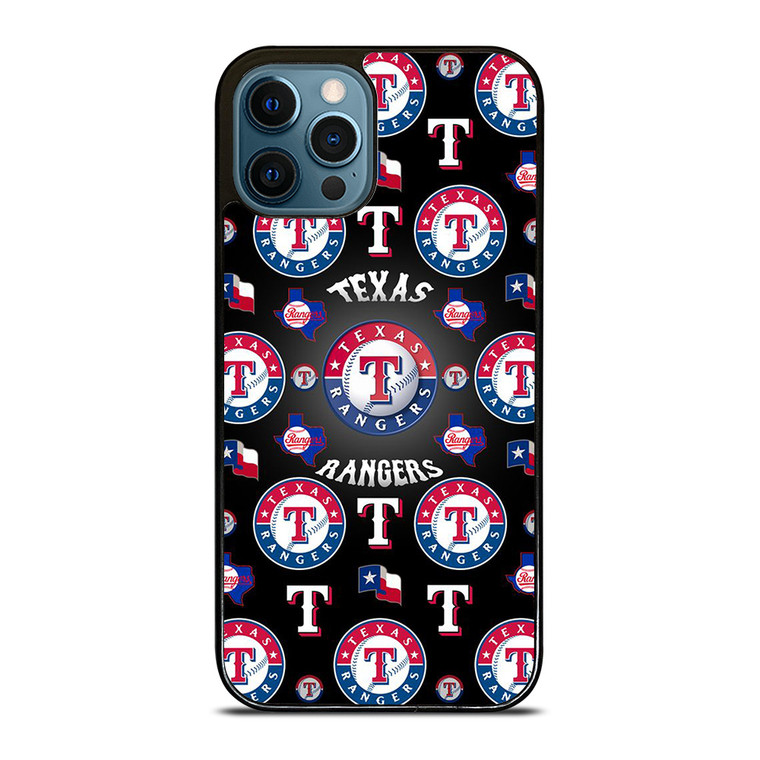 TEXAS RANGERS COLLAGE iPhone 12 Pro Case Cover