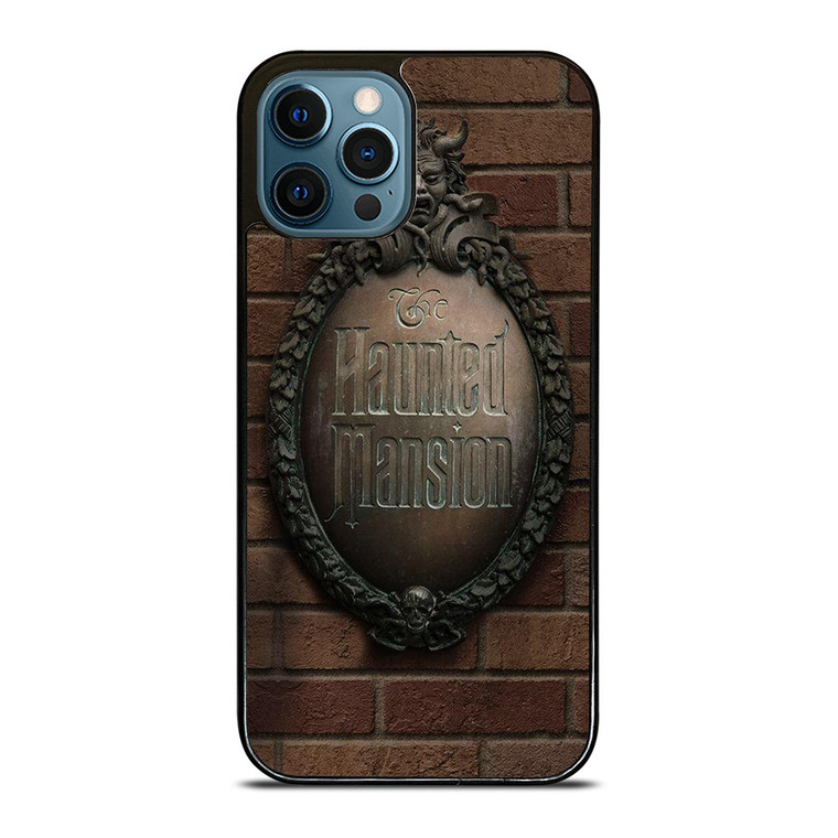 THE HAUNTED MANSION DISNEY WALL iPhone 12 Pro Case Cover