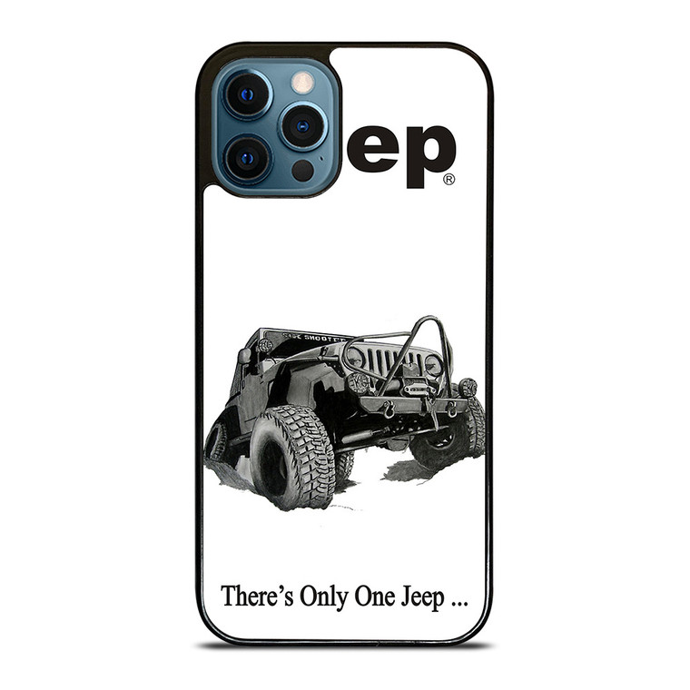 THERE'S ONLY ONE JEEP iPhone 12 Pro Case Cover