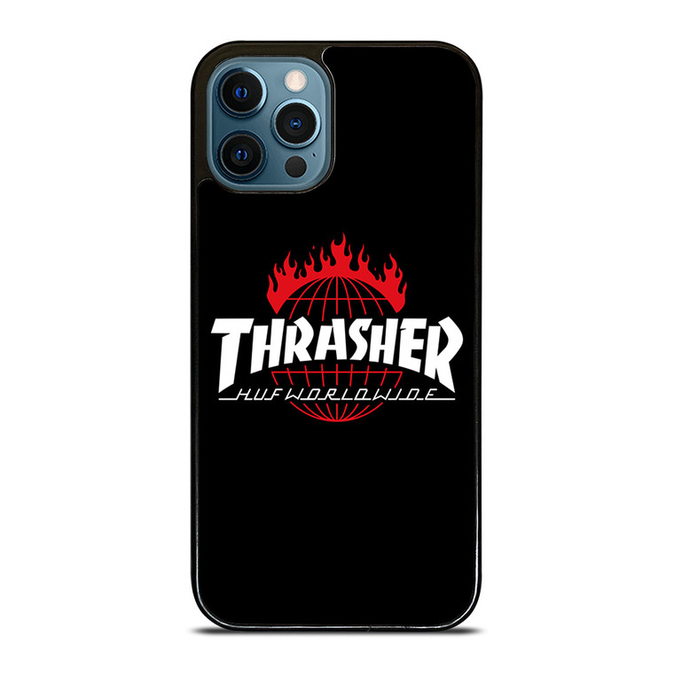 THRAASHER HUF WORLDWIDE iPhone 12 Pro Case Cover