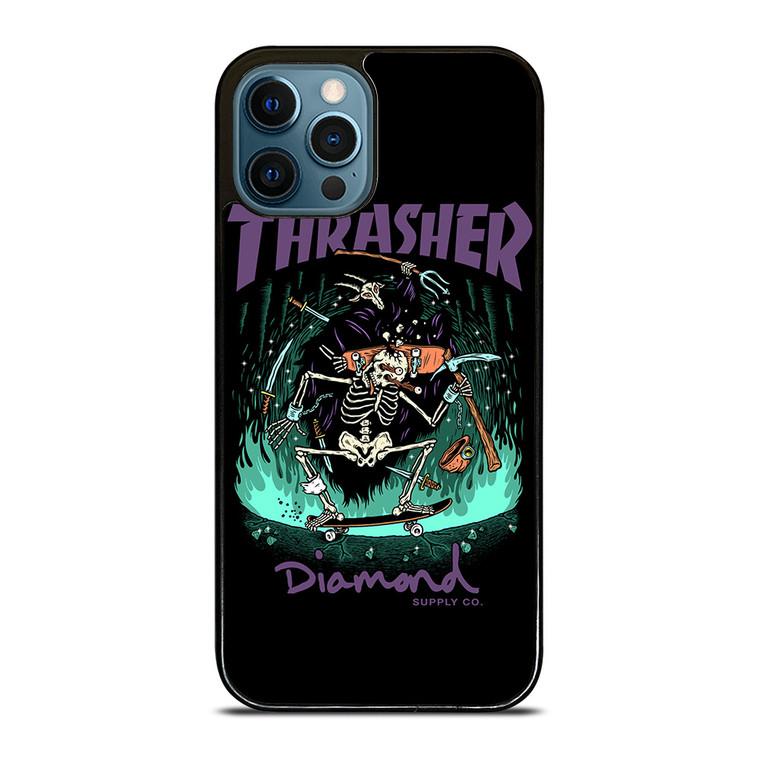 THRASHER DIAMOND SUPPLY CO iPhone 12 Pro Case Cover