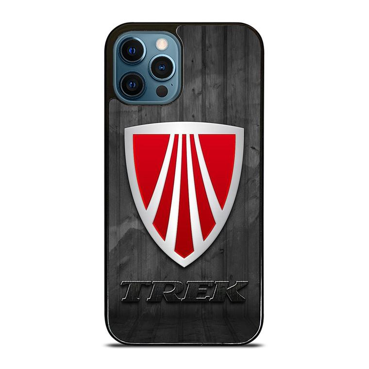 TREK BIKE WOODEN LOGO 2 iPhone 12 Pro Case Cover