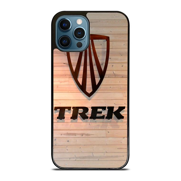 TREK BIKE WOODEN LOGO iPhone 12 Pro Case Cover