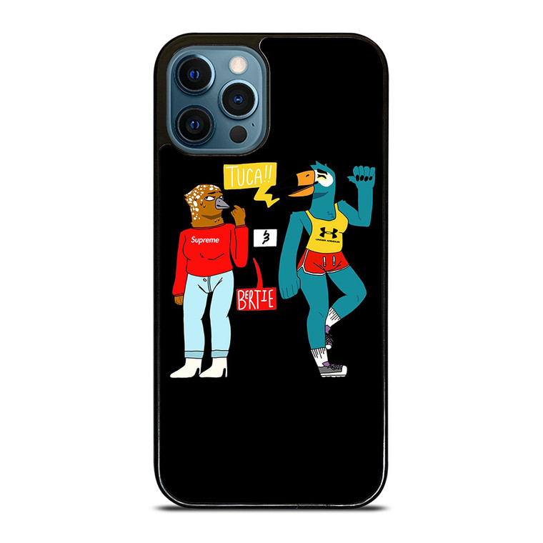 TUCA AND BERTIE HYPEBEAST CARTOON iPhone 12 Pro Case Cover