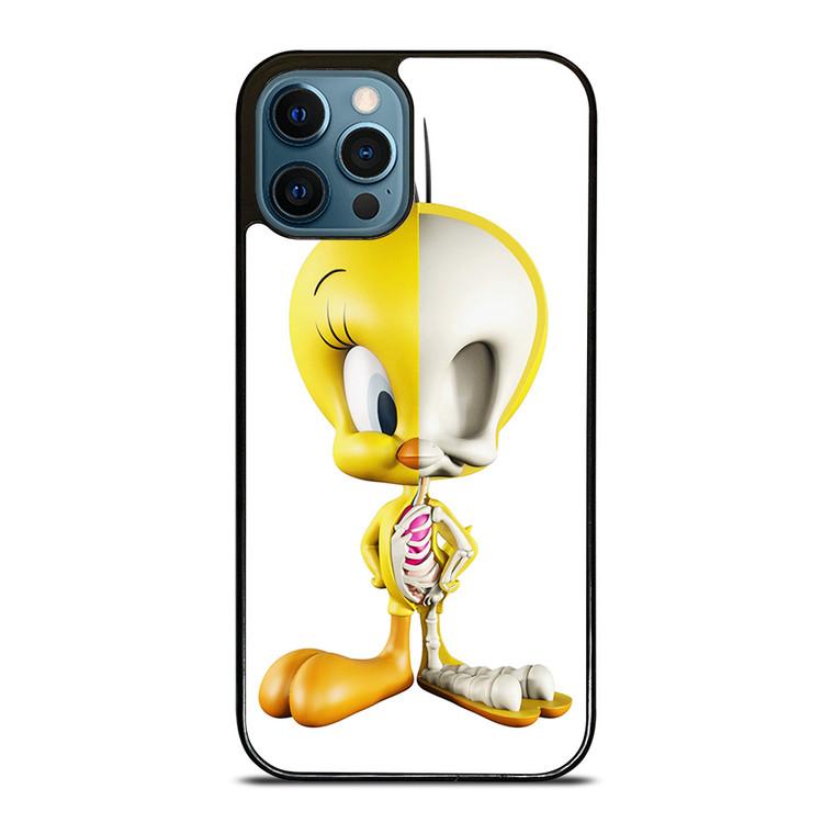 TWEETY BIRD SKELETON LOONEY TUNES iPhone 12 Pro Case Cover