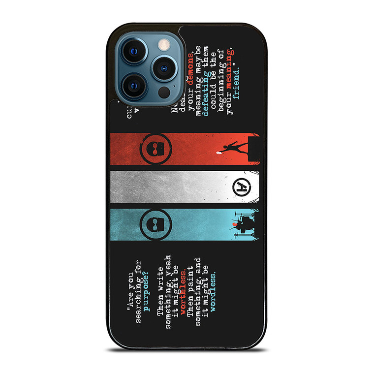 TWENTY ONE PILOTS KITCHEN SINK iPhone 12 Pro Case Cover