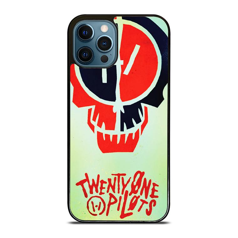 TWENTY ONE PILOTS SKULL iPhone 12 Pro Case Cover