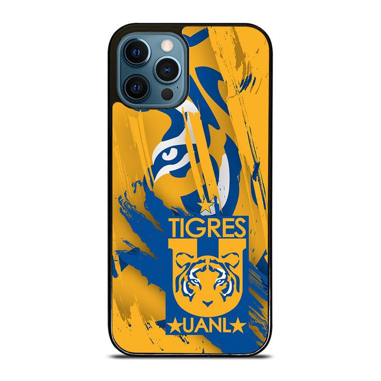 UANL TIGRES CLUB DE FUTBOL iPhone 12 Pro Case Cover