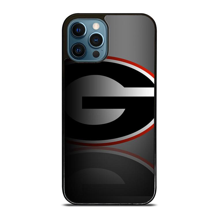 UGA GEORGIA BULLDOGS SYMBOL iPhone 12 Pro Case Cover