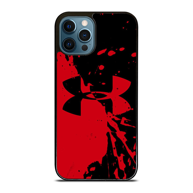 UNDER ARMOUR LOGO RED BLACK iPhone 12 Pro Case Cover