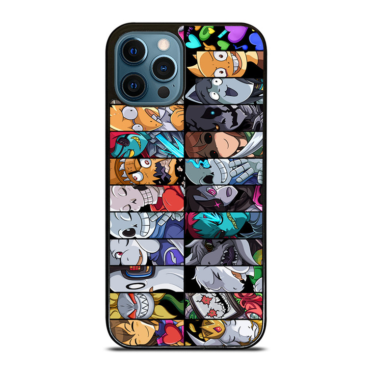 UNDERTALE ALL CHARACTER  iPhone 12 Pro Case Cover