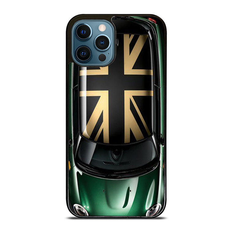 UNIONS JACK MINI COOPER GREEN iPhone 12 Pro Case Cover