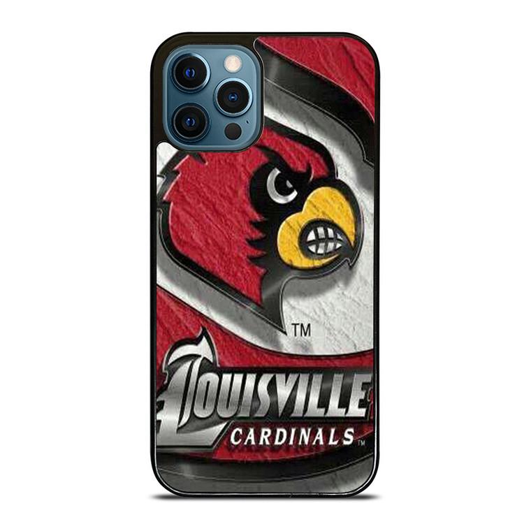 UNIVERSITY OF LOUISVILLE ART iPhone 12 Pro Case Cover