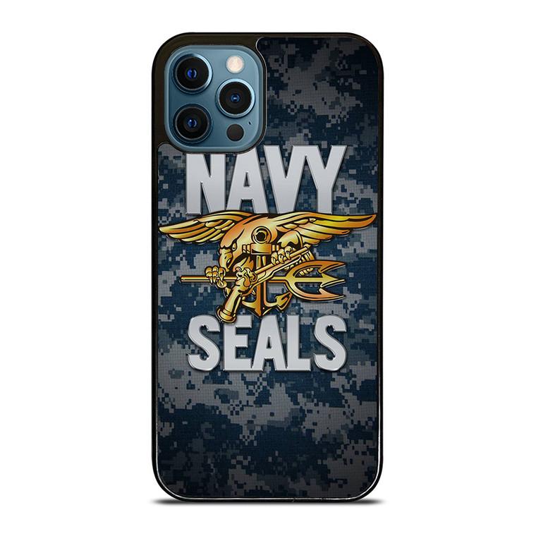 USA NAVY SEALS LOGO iPhone 12 Pro Case Cover