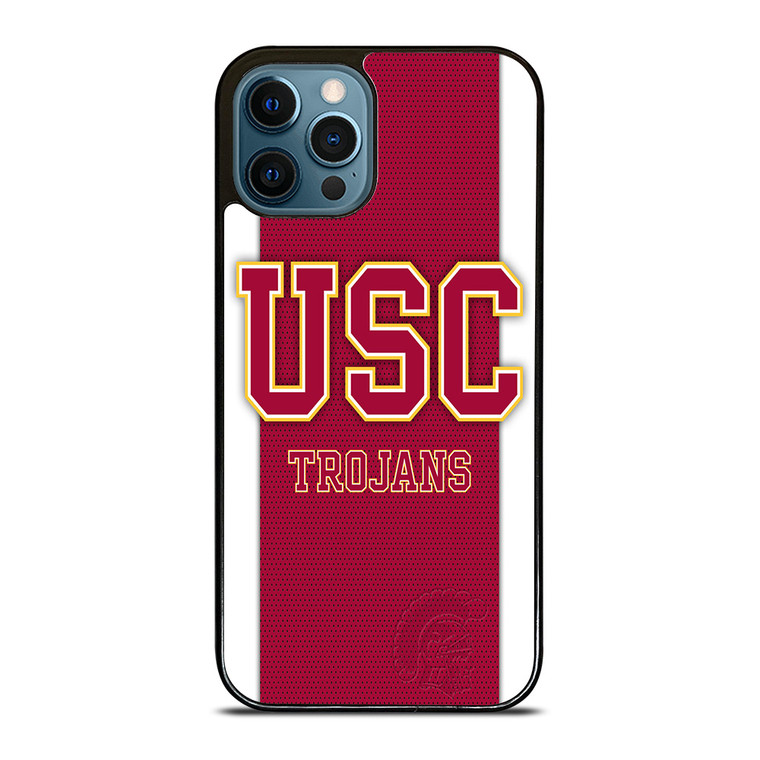 USC TROJANS FOOTBALL NFL iPhone 12 Pro Case Cover